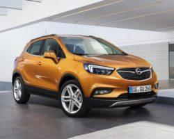 Рестайлинговый Opel Mokka X 2016 (цена, фото)