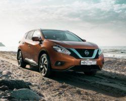 Новый Nissan Murano 2016 в России (цена, фото, видео)