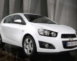 Цены на новый хэтчбек Chevrolet Aveo 2012 в России