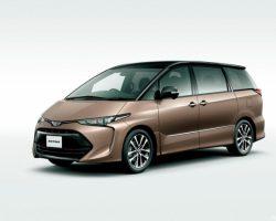 Обновленный минивэн Toyota Estima 2016–2017 (цена, фото)