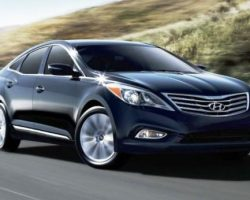 Хундай Азера 2012 (Hyundai Grandeur): обзор, характеристики, фото, видео