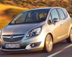 Представлен новый Opel Meriva 2014