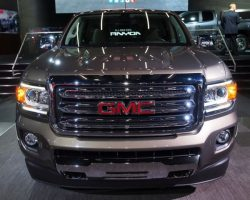 Представлен пикап GMC Canyon 2015 года
