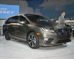 В США презентовали новый Хонда Одиссей 2017–2018 (фото, цена)