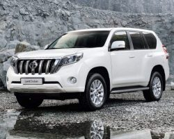 Цены на Toyota Land Cruiser Prado 150 2014 в России