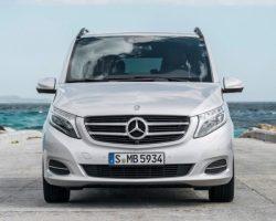 Российские цены на минивэн Mercedes V-Class 2015
