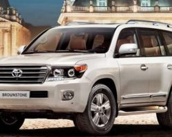 Toyota Land Cruiser 200 Brownstone 2014 в России