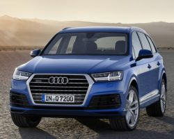Новый Audi Q7 2015 — 2016 (цена, фото)