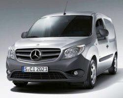 Новый Mercedes Citan 2014 в России