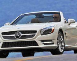 Новый Mercedes SL550 2013: фото, характеристики, цена