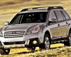 Цены на Subaru Outback 2013-2014 в России