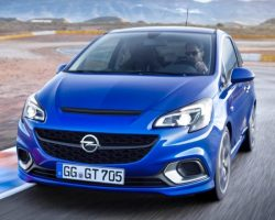 «Заряженный» хетчбэк Opel Corsa OPC 2016 (фото, цена)