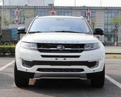 Китайский LandWind X7 — копия Range Rover Evoque (фото)