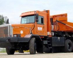 Тонар-45252 — автопоезд грузоподъемностью 130 тонн (фото, видео)