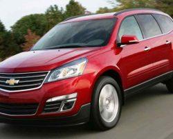 Новый Chevrolet Traverse 2013: фото, характеристики, видео