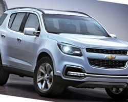 Chevrolet TrailBlazer 2013: характеристики, фото, видео