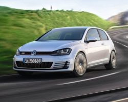 Новый Volkswagen Golf GTI 2014 года