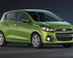 В Нью-Йорке показали новый Chevrolet Spark 2016 (цена, фото)