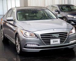 Седан Hyundai Genesis 2015 модельного года