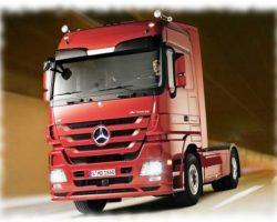Мерседес Актрос — лучший грузовик 2012 года