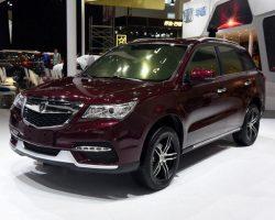 Китайский Jinbei Diazi – копия Acura MDX (фото, цена)