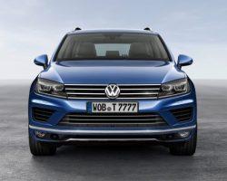 Обновленный Volkswagen Touareg 2015 в России (цена, фото)