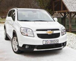 Дизельный Chevrolet Orlando в России