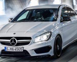 Подробности о новом Mercedes CLA 45 AMG 2014