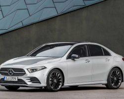 Новый седан Mercedes-Benz A-Class 2019 (фото, цена, комплектация)
