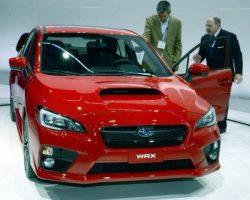 Цены на новый Subaru WRX 2014-2015 в России