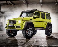 Новый Mercedes G500 4×4² 2016 Гелендваген (фото, видео, обзор)
