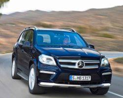 Новый Mercedes GL 2013 в России: цена, фото, характеристики