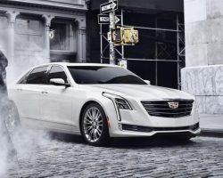 Флагманский седан Cadillac CT6 2018 в России (фото, цена)