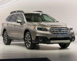 Новый Subaru Outback 2015 в России (цена, фото)