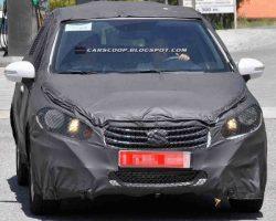 Обновленный Suzuki SX4 2014 на испытаниях (фото)