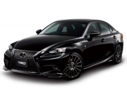 Новый Lexus IS F Sport 2014 в тюнинге TRD (фото)