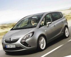 Новый Opel Zafira Tourer 2012 в России: характеристики, цена, фото, видео