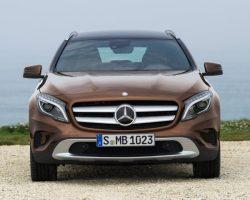 Новый кроссовер Mercedes-Benz GLA-Class 2014