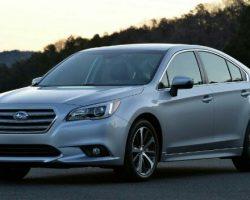 Новый Subaru Legacy 2015 модельного года