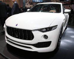 Представлен кроссовер Maserati Levante (фото, цена, видео)