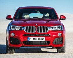 Цены на новый кроссовер BMW X4 2015 в России