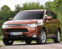 Mitsubishi Outlander 2013: цена, фото, характеристики
