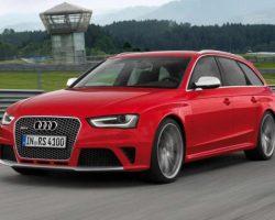 Цены на Audi RS4 Avant 2013 в России