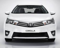 Новая Toyota Corolla 2014 для России