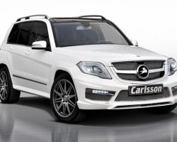 Mercedes GLK 2013 в тюнинге Carlsson (фото)