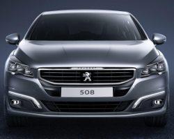 Рестайлинговое семейство Peugeot 508 2015