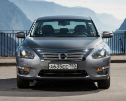 Новая Nissan Teana 2014 в России