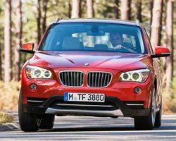 Кроссовер BMW X1 2013 в России: фото, характеристики