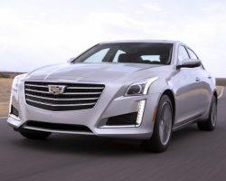 Обновленный седан Cadillac CTS 2017 (цена, фото)