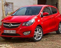 Рассекречен новый хетчбэк Opel Karl 2015 (фото, видео)